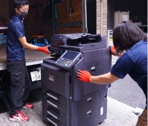 コピー機1台から、大量の什器まで処分可能